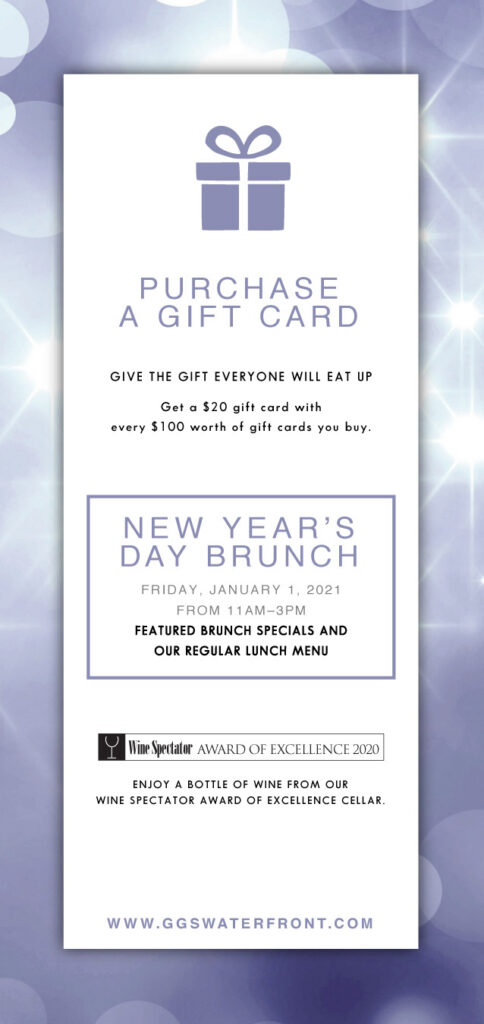 New Years Day Brunch